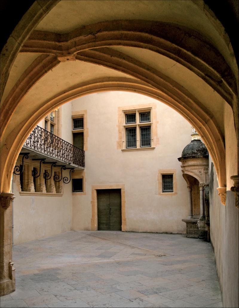 Couvrir Une Cour Intérieure maison du chamarier - renaissance du vieux-lyon